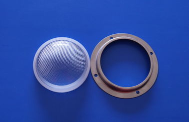 China 30w 50W Anti Glare Cree LED Lens 120 Degree For Flood Light , 78mm diameter supplier