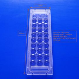 30 Watts Injection Molding Plastic Array Lens LED Cover For High Bay Light supplier