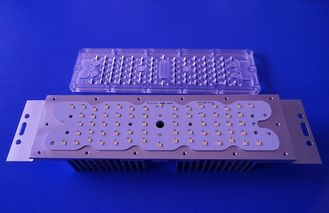 China Led Street Light Lens 80x150 Degree Led Light Module With Heat Sink supplier