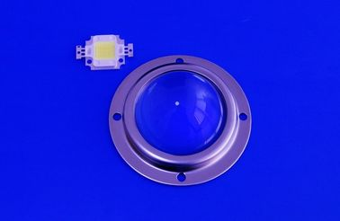 China 50Mm Led Glass Lens , Road Lamp / Led Street Light Module With Metal Holder supplier