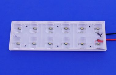 12W Led Street Light Lens For Led Lamp , Higher Lumen CREE PMMA Lens
