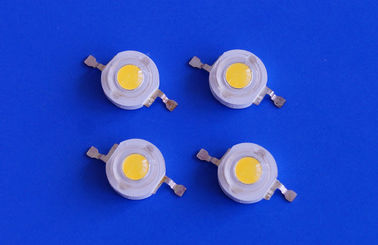 China 3200K 120lm 1w High Power Led Bridgelux Chip Warm White 14.8*7.9mm Size supplier