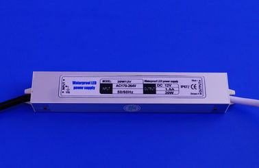 High Efficiency Compact 20w Led Constant Voltage Driver Aluminum Case