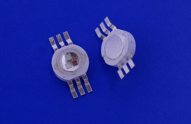 China 9W high power led module with R 2.2V - 2.8V / G 3V - 3.6V / B 3V - 3.6V supplier