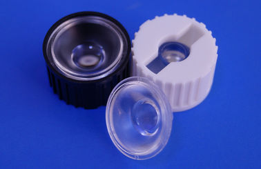 China 1W 3W Optical PMMA LED Collimator Lens Concave Frosted For Led Spotlight Lens supplier