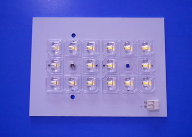 China Aluminium Material Led Smd Pcb 1 Layer Customized PCB Plate Solar Lamp White Color supplier