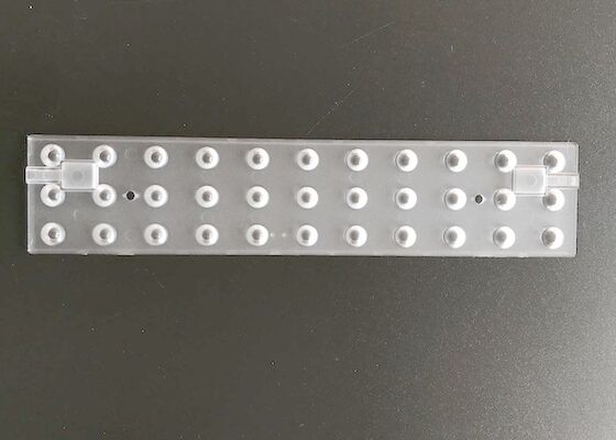 120 Degree SMD5630 Optical PC LED Array Lens For Supermarkets