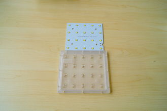 20W Micro Led Lens Array / SMD Led Street Light Module With PCB Board , 143x73 Degree