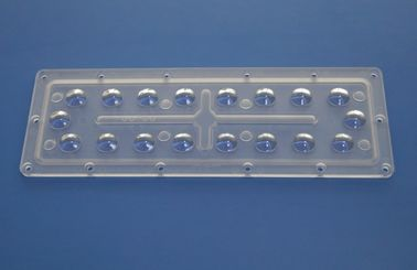 China Turnnel Light 18W Rectangle Optical Lens street light components 90 x 90 degree supplier