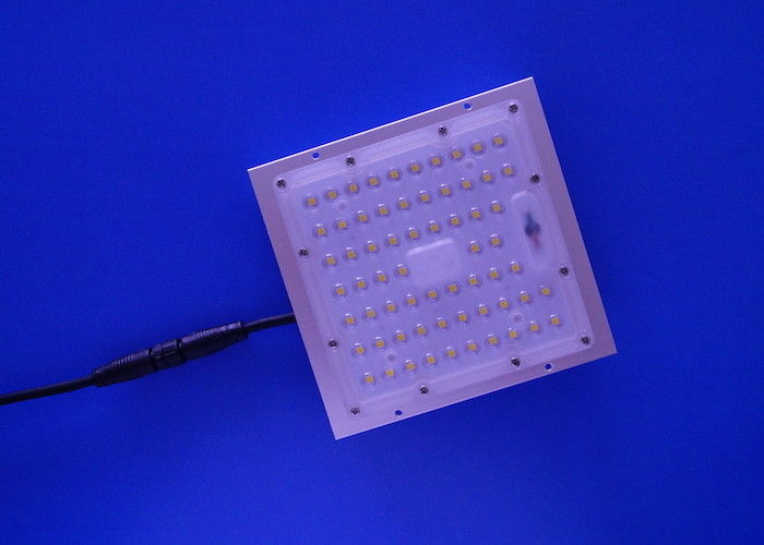 150lm/w Square Shape 3030 LED Lens Module 90 Degree Beam Angle For Tunnel Light