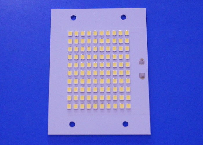50W 2835SMD SMD LED PCB Board 10 Series 10 Parallel Flood Light Module 6500K