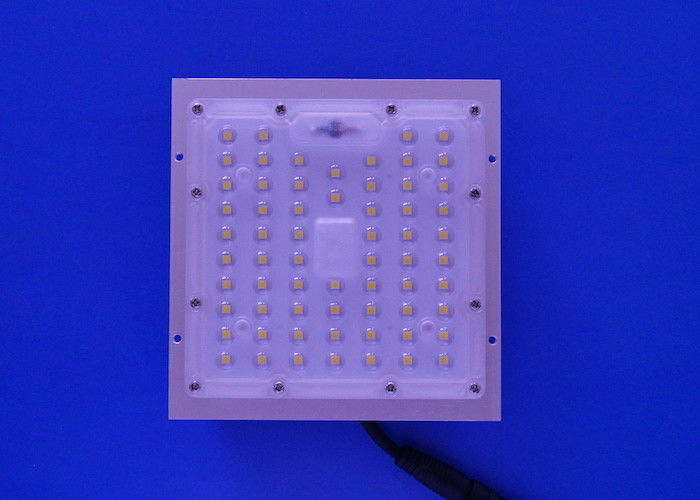 China 64 LED Square Lighting LED Street Light Module 3030 SMD 50W Module 60 / 90 Degree factory