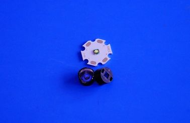 China 11mm Bead Surface 1w 3w Optical Lens For CREE XTE/XPE/3535 LED distributor