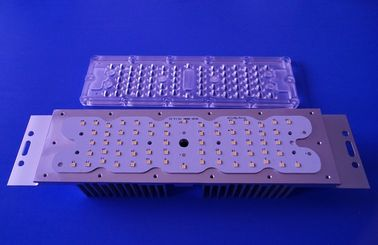 China Led Street Light Lens 80x150 Degree Led Light Module With Heat Sink distributor