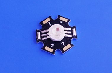 China Star Shape 3w 9w RGB LED Diode High Power LED With colorful distributor