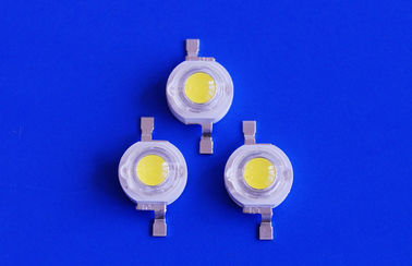 China 3.5-4.5 Voltage 240LM High Power LED 3w Bridgelux Chip 6000K - 6500K distributor