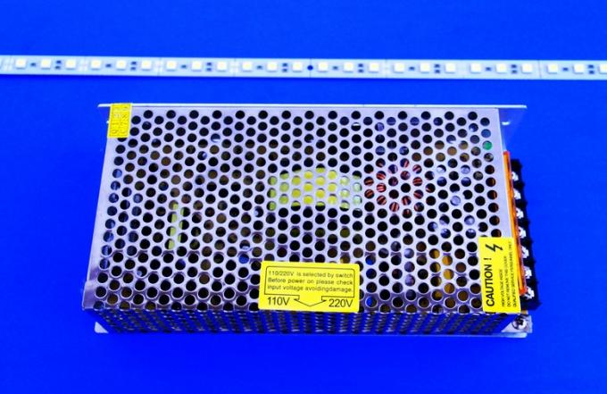 12V 150w Constant Voltage Led Driver , Aluminum Led Lamp Power Supply For Tunnel Light