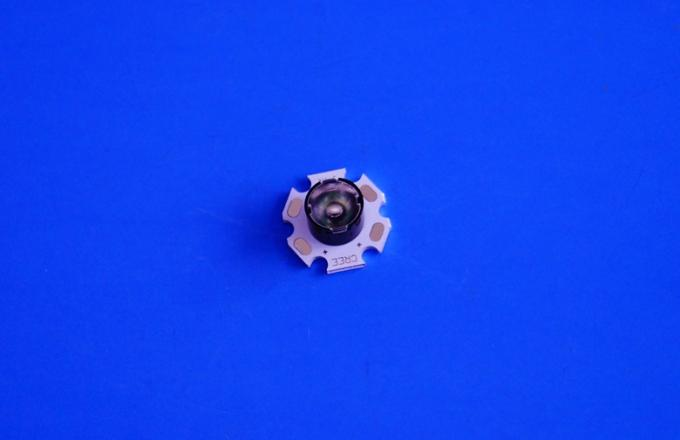 11mm Bead Surface 1w 3w Optical Lens For CREE XTE/XPE/3535 LED