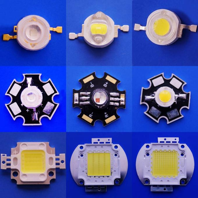 100 Watt RGB High Power COB LED R/G/B Chip 120 Degree Viewing Angle For Plant Growing