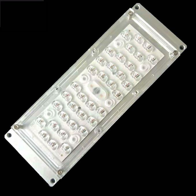 6 In 1 5050 SMD LED Street Light Lens Wide Angle 160x80 Degree TYPEII-M Durable